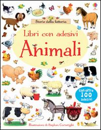 Animali. Con adesivi. Ediz. illustrata