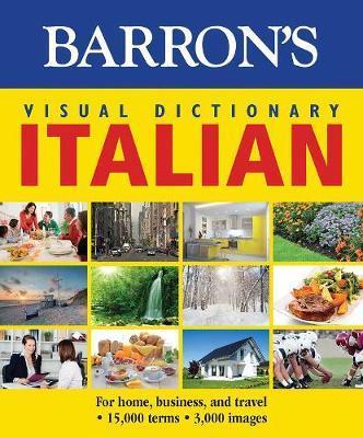 Barron's Visual Dictionary Italian