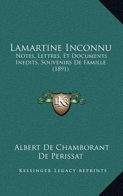 Lamartine Inconnu