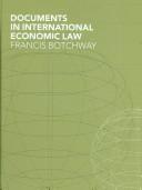 Documents in International Economic Law