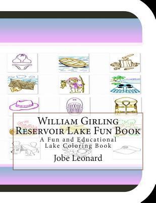 William Girling Reservoir Lake Fun Book Coloring Book
