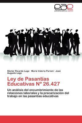 Ley de Pasantías Educativas Nº 26.427