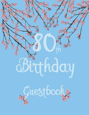 80th Birthday Guestbook