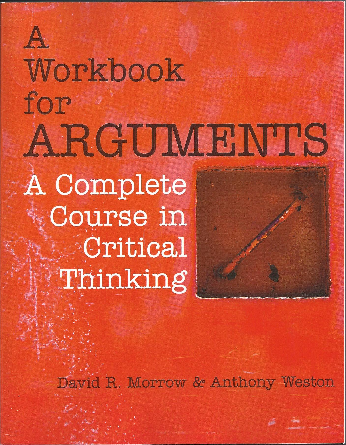 Workbook for Arguments