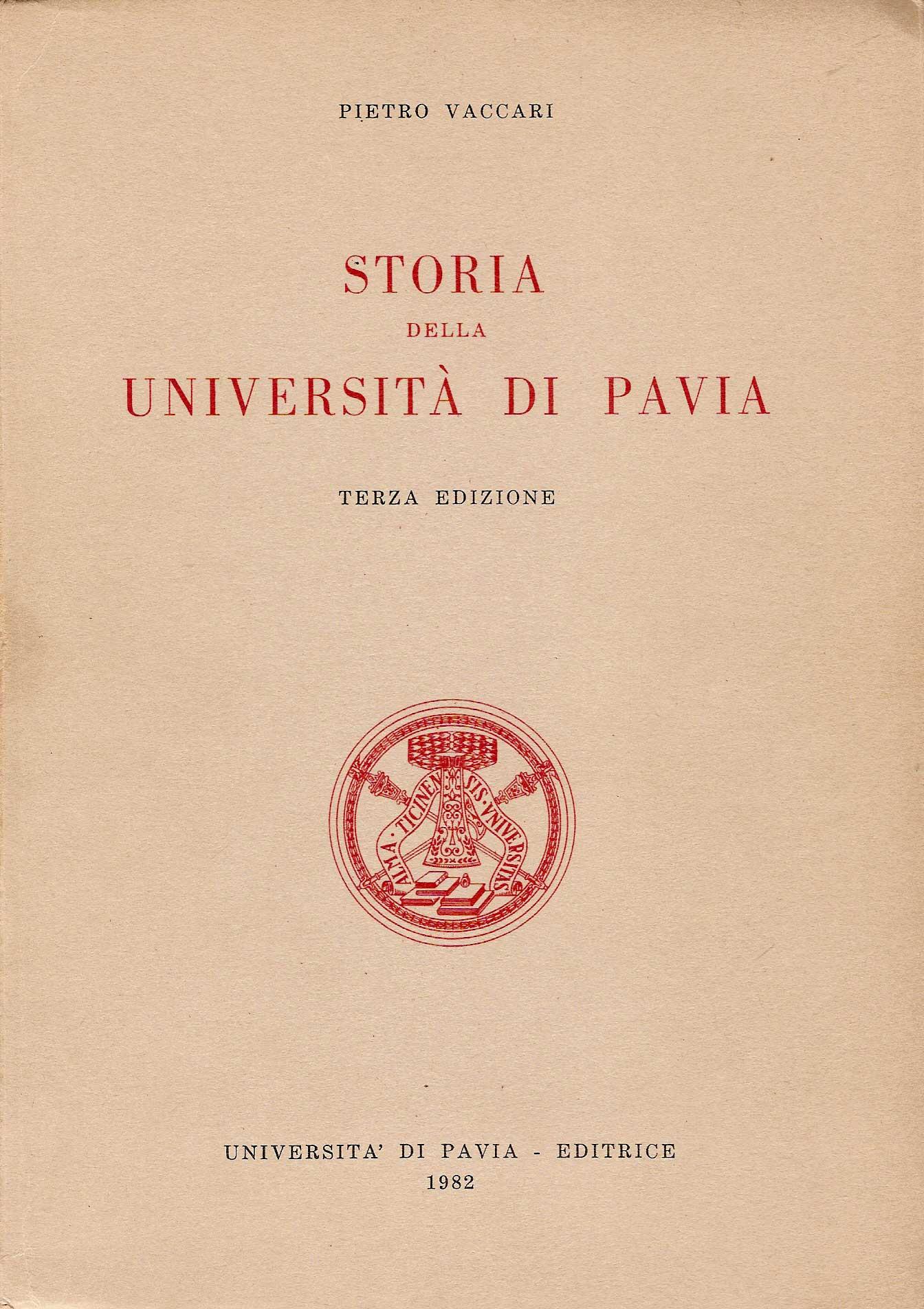 Storia dell'Università di Pavia