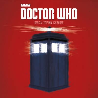 Doctor Who Mini Official 2017 Calendar (Mini Wall Calendar 178x178mm)