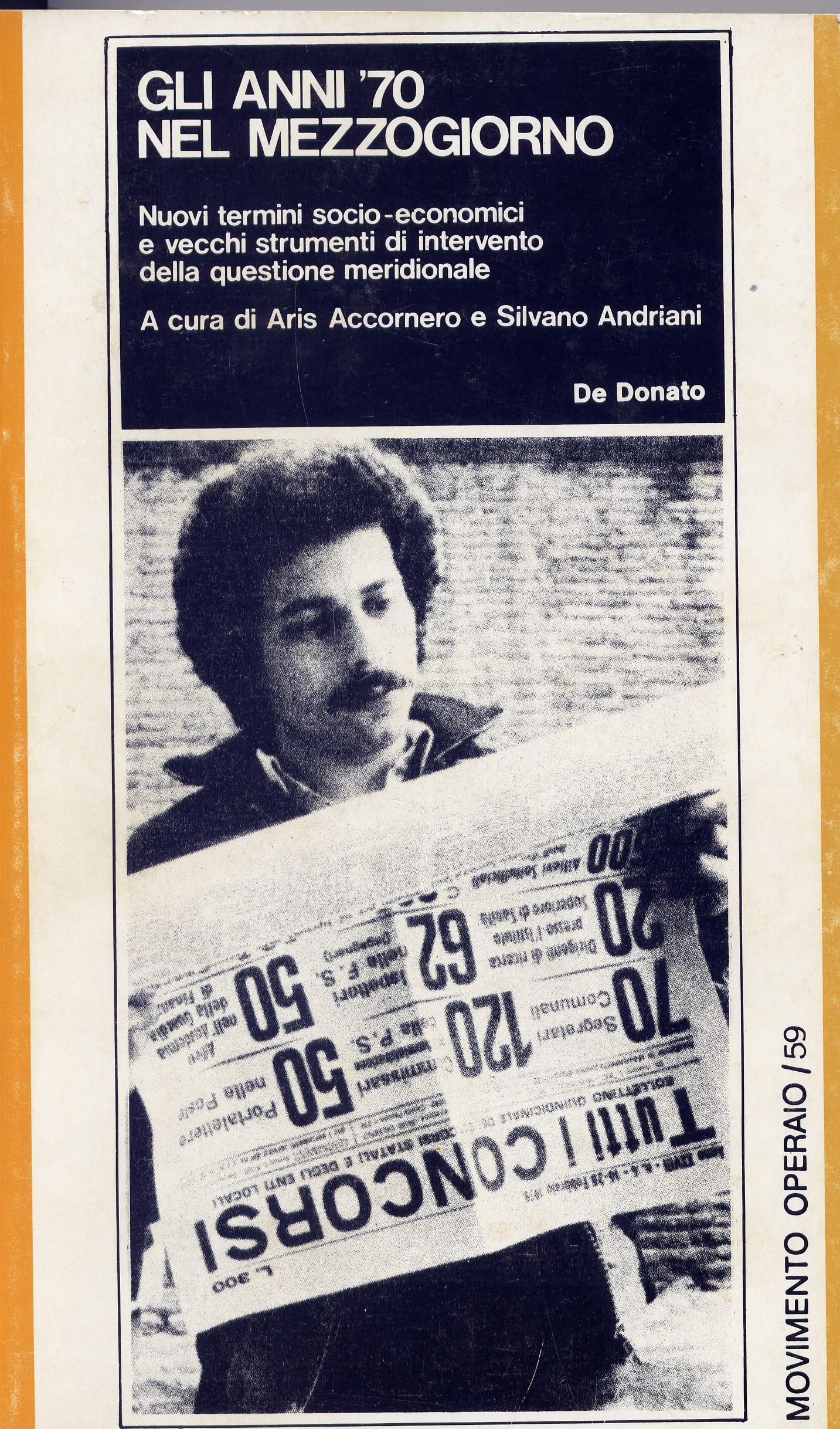 Gli anni '70 nel Mezzogiorno