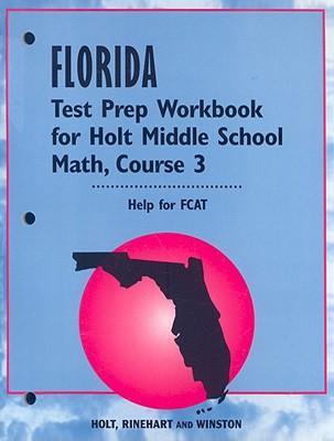 Math, Test Preperation Workbook Course 3