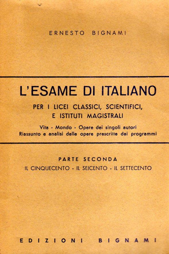 L'esame di italiano
