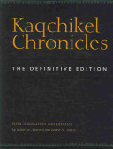 Kaqchikel chronicles