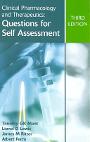 Clinical Pharmacology and Therapeutics: Questions for Self Assessment