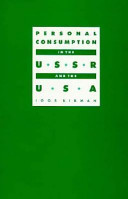 Personal Consumption in the USSR and USA