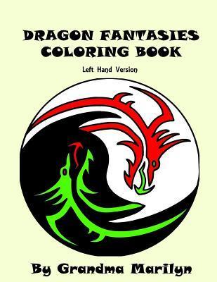 Dragon Fantasies Adult Coloring Book