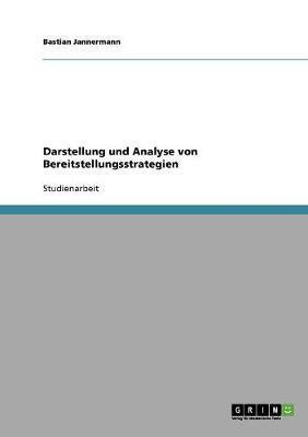 Darstellung und Analyse von Bereitstellungsstrategien