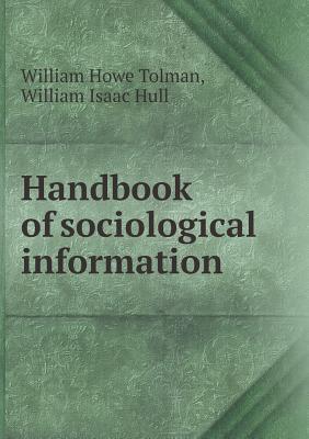 Handbook of Sociological Information
