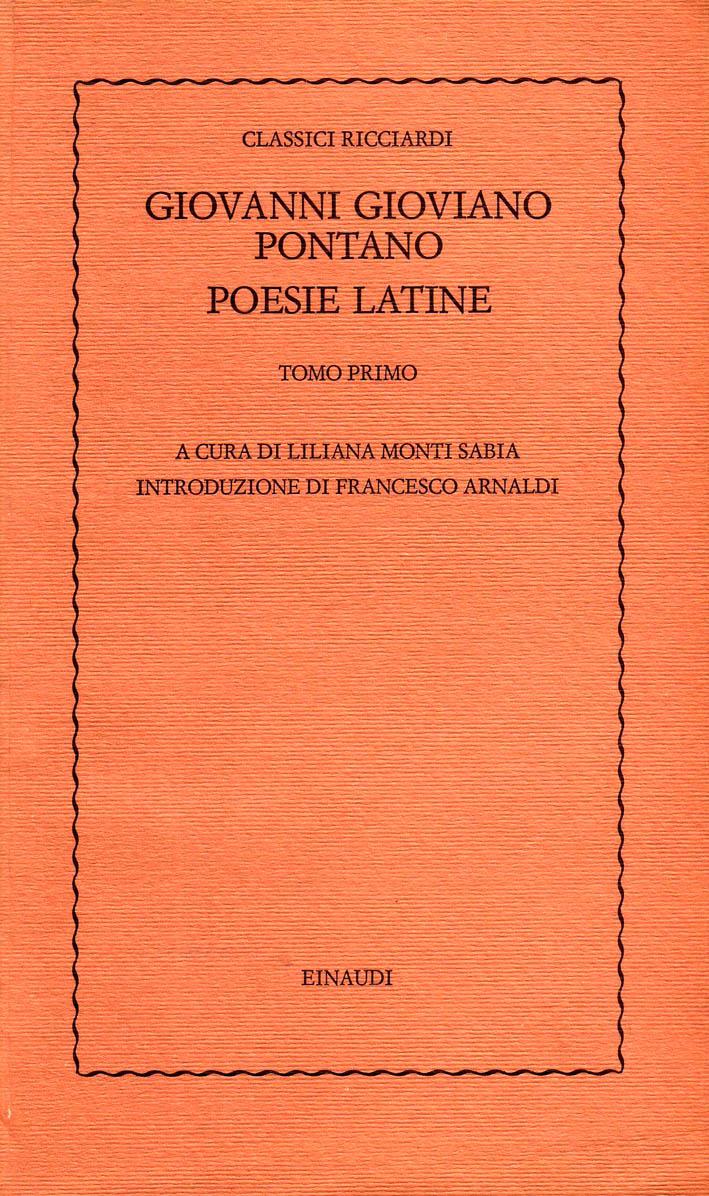 Poesie latine