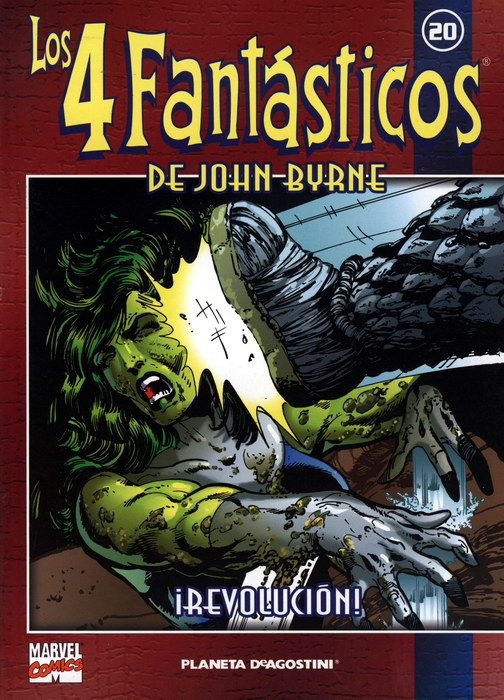 Coleccionable Los 4 Fantásticos de John Byrne #20 (de 25)