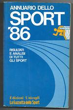Annuario dello sport 1986