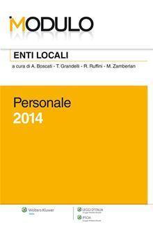 Modulo enti locali 2014. Personale