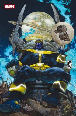 L'ascesa di Thanos n. 1 - Variant Cover metallizzata