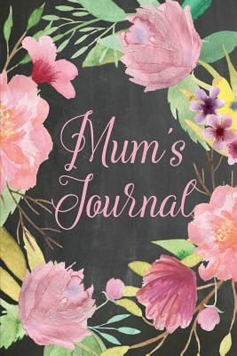Chalkboard Journal Mums Journal, Baby Pink