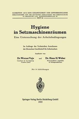 Hygiene in Setzmaschinenräumen