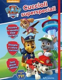Cuccioli superspeciali. Paw Patrol. Diario con elastico. Ediz. a colori