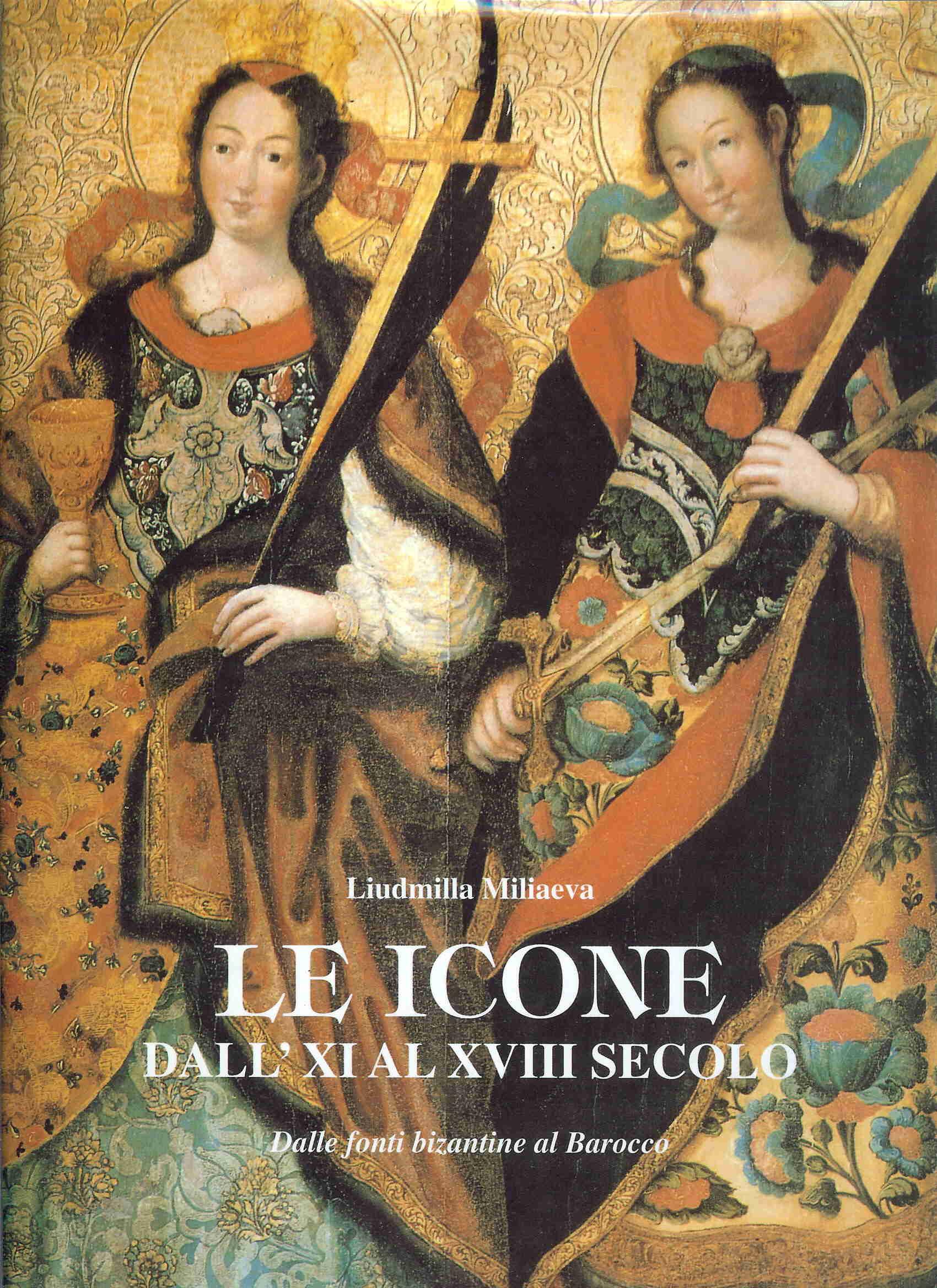 Le icone dall'XI al XVIII secolo