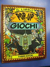 Libro pop up dei giochi