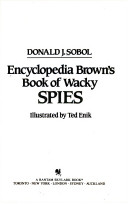 Encyclopedia Brown's Book of Wacky Spies