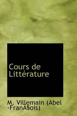 Cours de Litt Rature