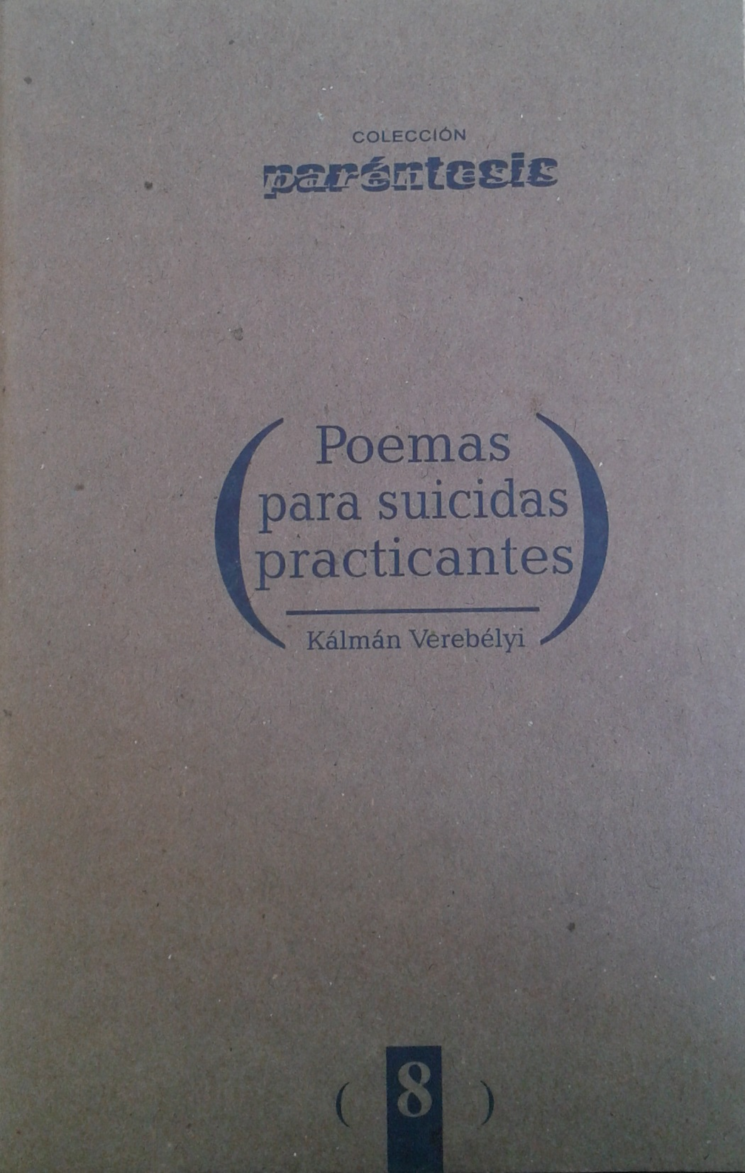 Poemas para suicidas praticantes