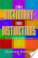 A Dictionary of Distinctions