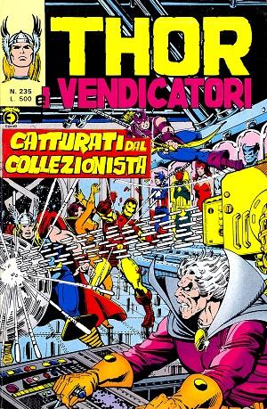 Thor e i Vendicatori (Il Mitico Thor) n. 235
