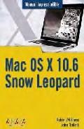 MAC OS X 10.6.