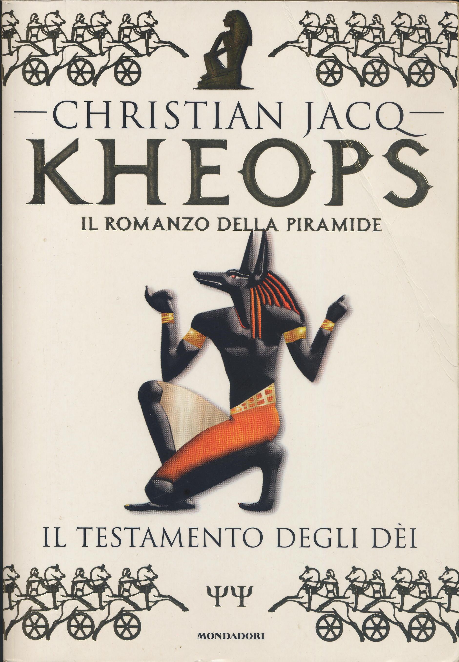 Il romanzo di Kheops...