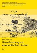 Hexenforschung aus österreichischen Ländern