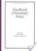 Handbook of Monetary Policy