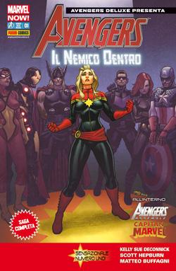 Avengers Deluxe Presenta n. 1