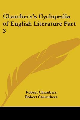 Chambers's Cyclopedia of English Literature 1879