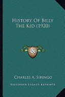 History of Billy the Kid (1920) History of Billy the Kid (1920)