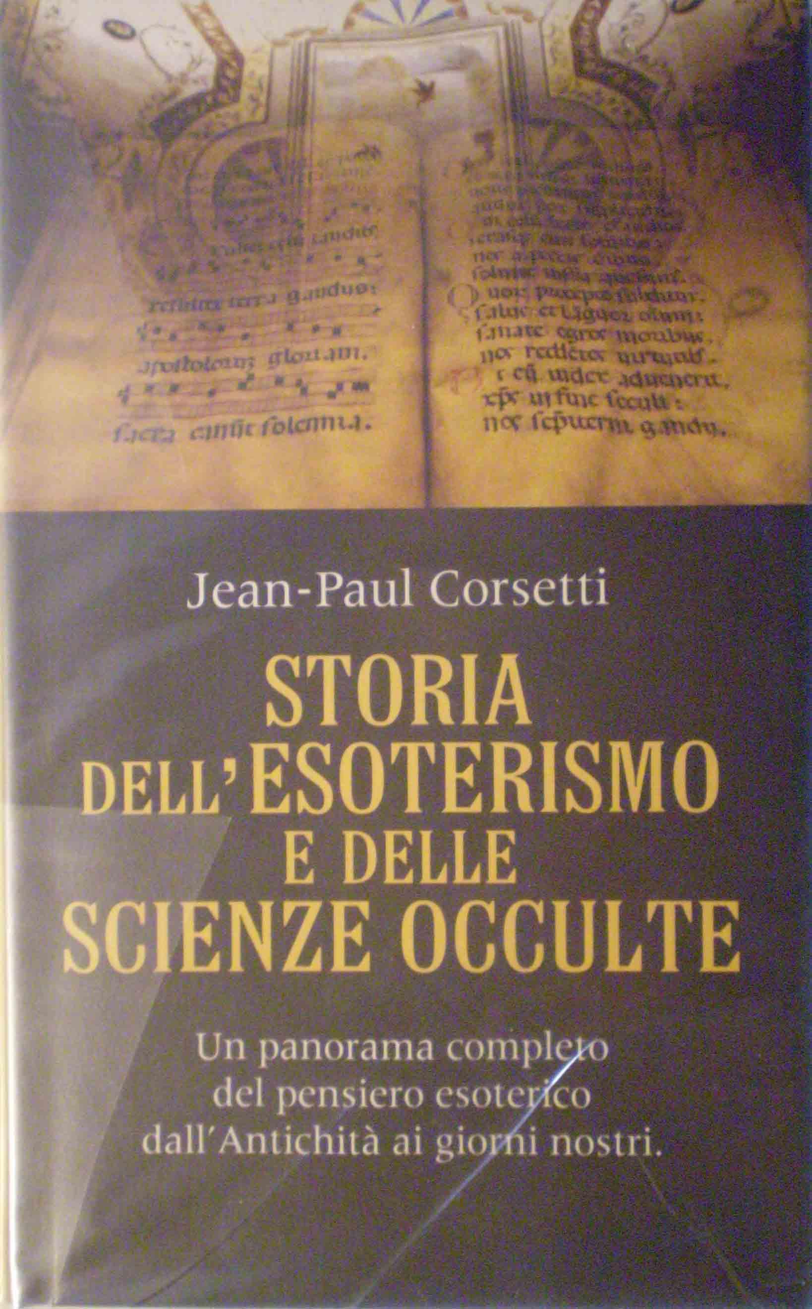 Storia dell'esoterismo e delle scienze occulte