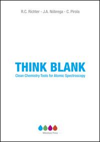 Think blank. Clean chemistry tools for atomic spectroscopy