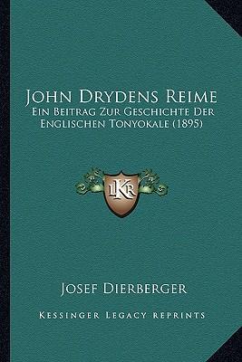 John Drydens Reime