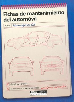 Fichas de mantenimiento del automóvil