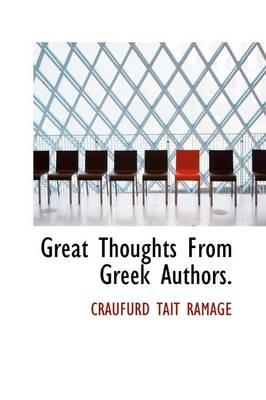 Great Thoughts from Greek Authors