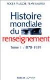 Histoire mondiale du renseignement: 1870-1939