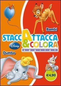 Dumbo-Bambi. Staccattacca e colora special. Ediz. illustrata