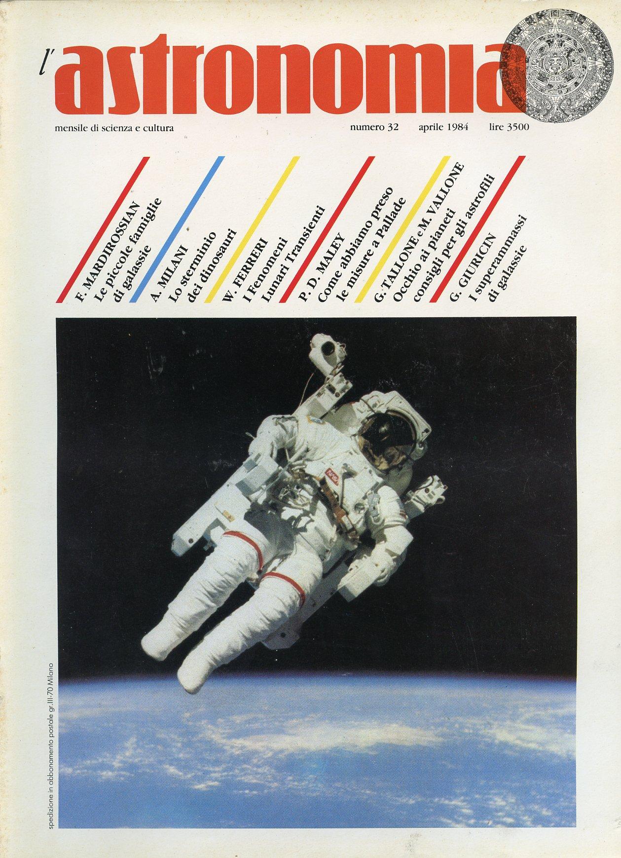 L'Astronomia, Anno VI, n.32