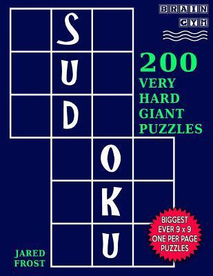 Sudoku 200 Very Hard Giant Puzzles